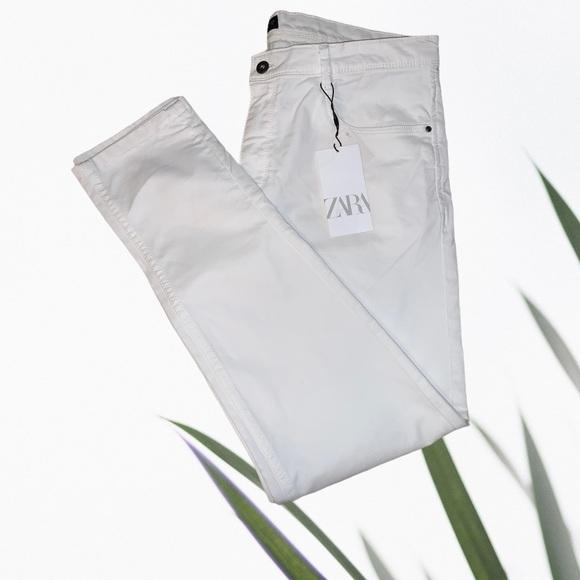 Zara Skinny Jeans White 34 (14/16)